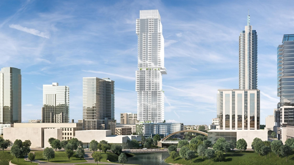 Standing 685 feet with 58 stories, the Independent will become an Austin skyline icon.