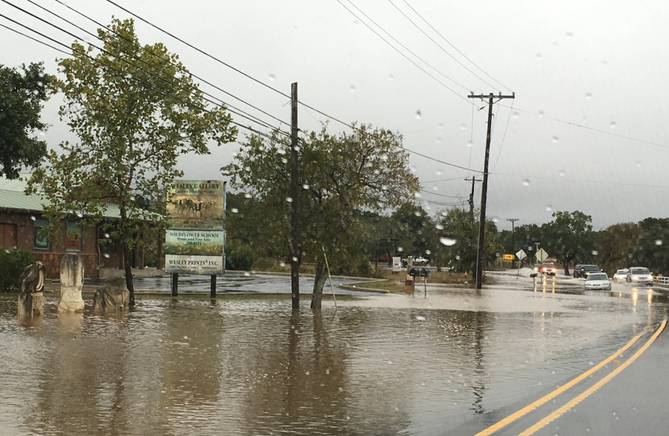 Downtown Dripping Springs at R R12 and 290