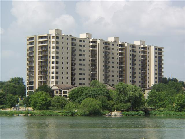 Towers of Town Lake
